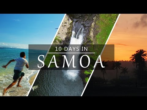 10 Days in Samoa - Island Adventure!