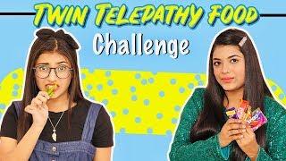 Twin Telepathy Food Challenge   SAMREEN ALI