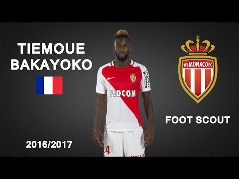 TIEMOUE BAKAYOKO | AS Monaco | Skills, Assists | The Beginning 2016/17 (HD)
