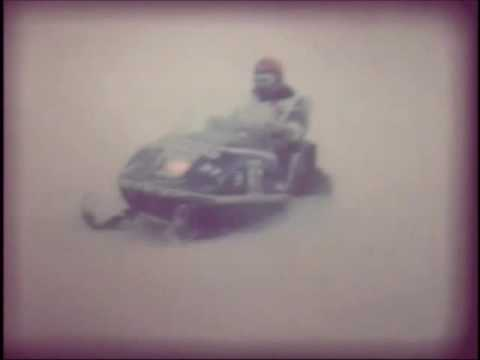 1976 I 500 Snowmobile race from Saint Paul MN to Winnipeg Canada