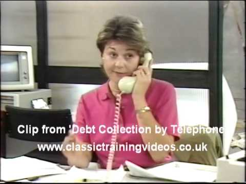 Debt Collection By Telephone - Clip from the DVD