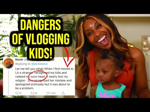 JACKIE AINA EXPOSES DANGERS OF INFLUENCERS POSTING THEIR KIDS! thumbnail
