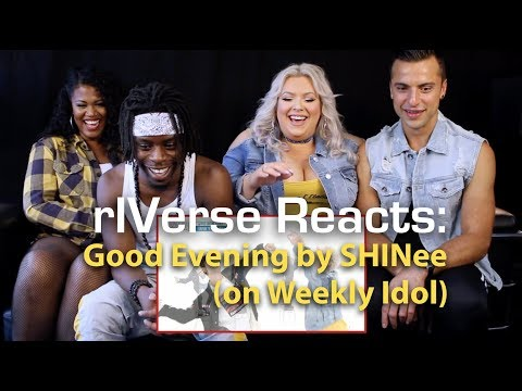 rIVerse Reacts: Good Evening by SHINee - Weekly Idol Roller Coaster Dance Reaction