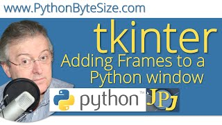 Adding Frames to a Python tkinter window