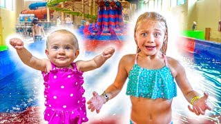 The LaBrant Family Braves The Worlds Largest Indoor Waterpark!!! Video