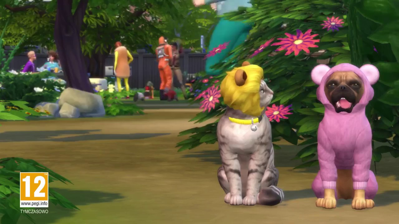 Sims  Cats And Dogs Trailer