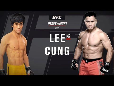 AMAZING!!! UFC4 | Bruce Lee Vs Cung Le (EA Sports UFC 4)