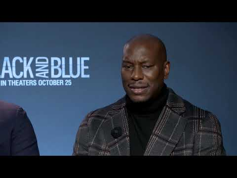 Kyle Santillian - Kyle Santillian talks Black & Blue with Tyrese & Deon Taylor & more!!!