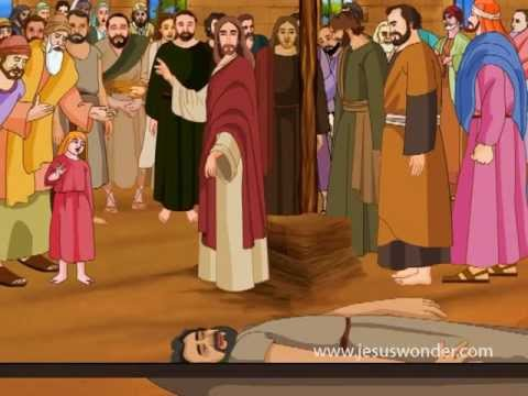 Jesus Heals The Paralysed Man Animation Video Youtube