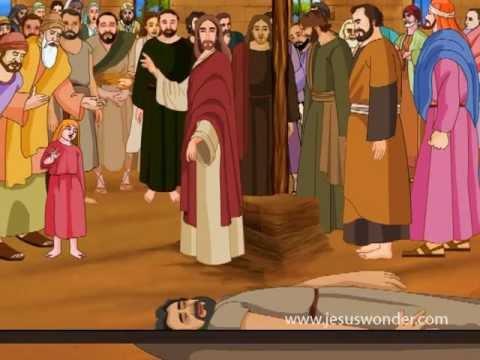 Jesus Heals The Paralysed Man Animation Video