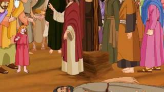 Jesus Heals The Paralysed Man Animation Video
