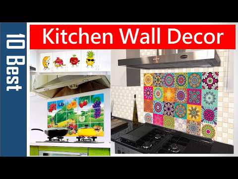Wall stickers for kitchen tiles | Kitchen wallpaper | Kitchen wall decor | 3d wall stickers amazon