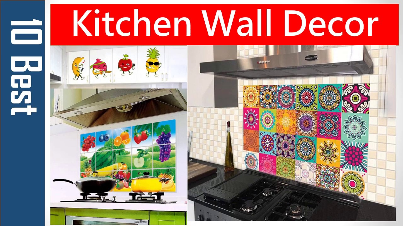 Wall Stickers For Kitchen Tiles Kitchen Wallpaper Kitchen Wall Decor 3d Wall Stickers Amazon Youtube
