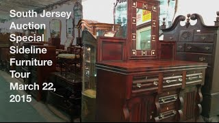 March 22, 2015 - Special Sideline Furniture Tour - South Jersey Auction