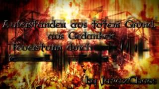 Unzucht - Feuersturm [Lyrics on Screen by JavaxChaos]