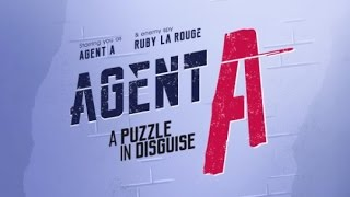 Agent A: A Puzzle in Disguise: FULL COMPLETE Walkthrough Guide & iOS iPad Air 2 Gameplay