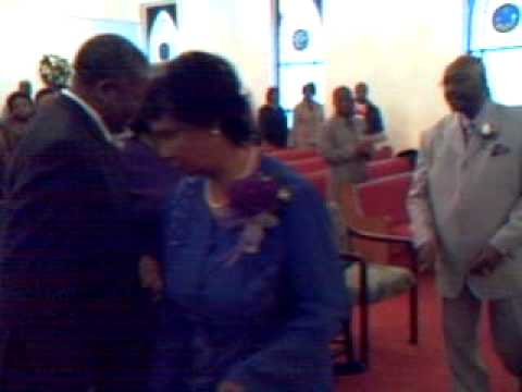 Pastor & Wife Marching In On There Anny 2009