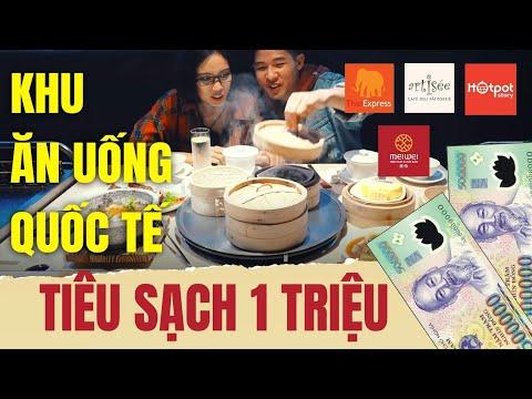 Vlog: Tiêu sạch 1 triệu trong tổ hợp ăn uống CHẢNH bậc nhất Hà Nội