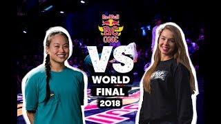 Sunny vs Paulina - Top16 1vs1 na Red Bull BC One BGirl World Final