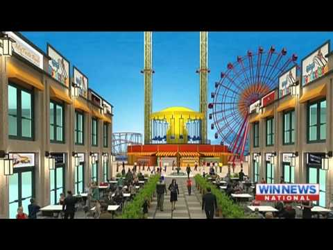 "Nine News Sydney | ""Wonderland"" Theme-Park Proposal Report - (16.09.2015)"
