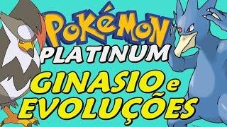 Pokémon Platinum (Detonado - Parte 14) - Ginásio de Água, Staraptor e Golduck