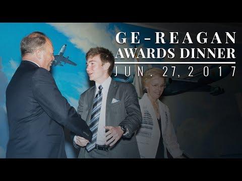 GE-Reagan Foundation Scholarship Award Dinner — 6/27/17