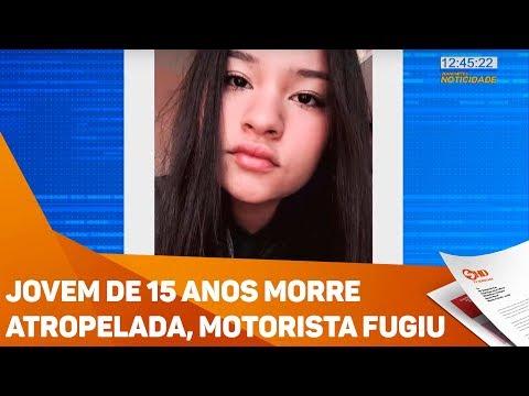 Jovem de 15 anos morre atropelada, motorista fugiu - TV SOROCABA/SBT