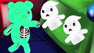 une peu zombie | effrayant nursery rhyme | chanson éducative pour les enfants | One Little Zombie