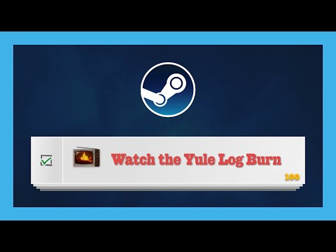 """How To Complete """"Watch The Yule Log Burn"""" Steam Winter Sale Quest"""