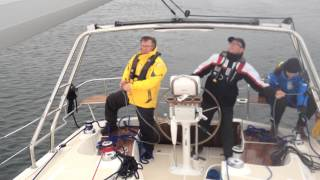 Marlow Hunter 37 Test Sail