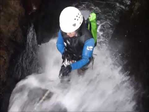 Canyoning Seixal in Madeira, Portugal