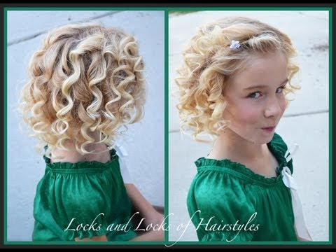 curls on short hair styles how to barrel curl hair 5089 | hqdefault