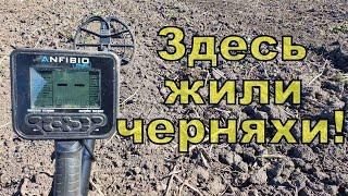 Копаем древнюю черняховскую поселуху Поиск с NOKTA Anfibio Multi Фильм 134