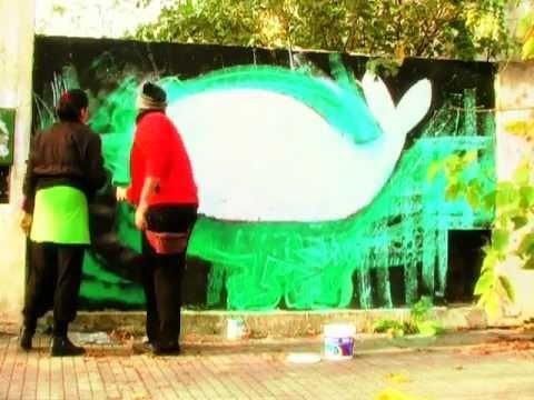 """Mansa Ballena con Luxor en La Plata """"Aborto Ya"""""""