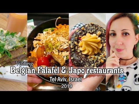 Visiting Belgian Falafel And Japo Restaurants In Tel Aviv, Israel | ביקור בפלפל בלגי וג'אפו