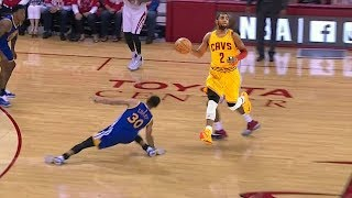 1v1: Kyrie Irving VS Stephen Curry//Ankle breakers ALERT//MUST WATCH