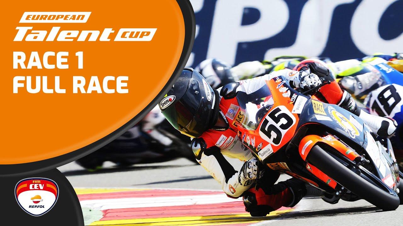 Albacete Circuit : Race 1 european talent cup albacete youtube