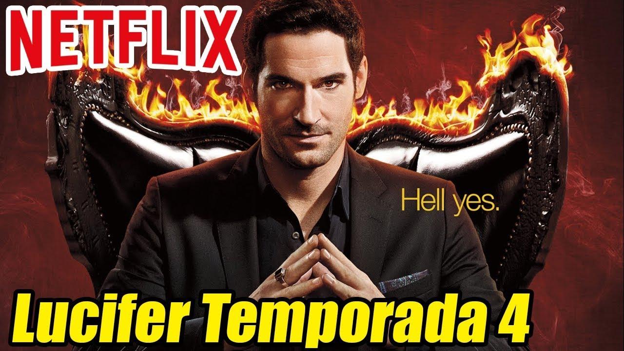Lucifer Temporada 4 Todo Lo Que Sabemos Luciferonnetflix Youtube