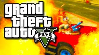 GTA 5 PC - Our New Police Friend!!  (GTA 5 Funny Moments) Part 2