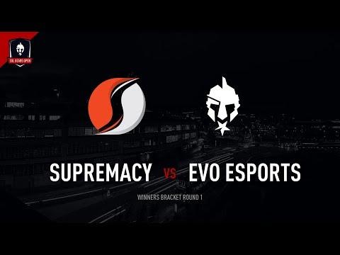 EGL Gears Open Sheffield : Supremacy vs Evo : WBR1 - Map 1