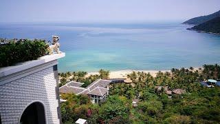 Вьетнам Vietnam Intercontinental Danang Sun Peninsula Hotel review Обзор отеля subtitles