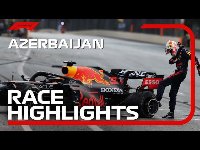 Race hoogtepunten: 2021 Azerbaijan Grand Prix