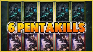 5 Kalistas But Only 1 Can Rend.... So Many Pentas!