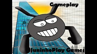 Gameplay de Stickman Base Jump