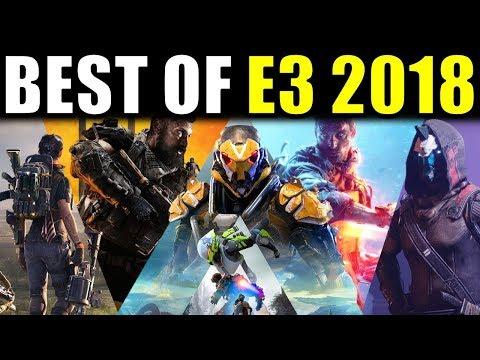 My BEST OF E3 2018! (Anthem, Battlefield 5, Black Ops 4, The Division 2, Destiny 2 Forsaken) thumbnail