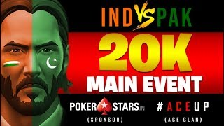 Fortnite India Live || ACE 20K Tourney || India VS Pakistan