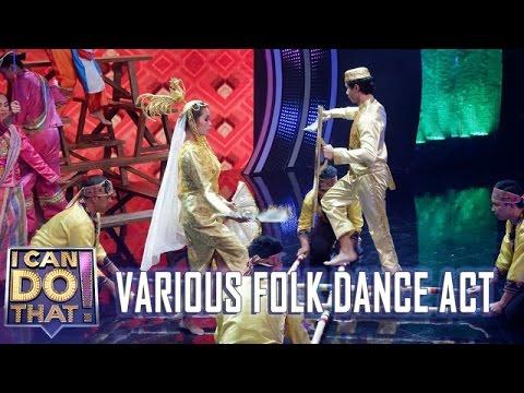 I Can Do That!: Team Folktastic | Various Folk Dance