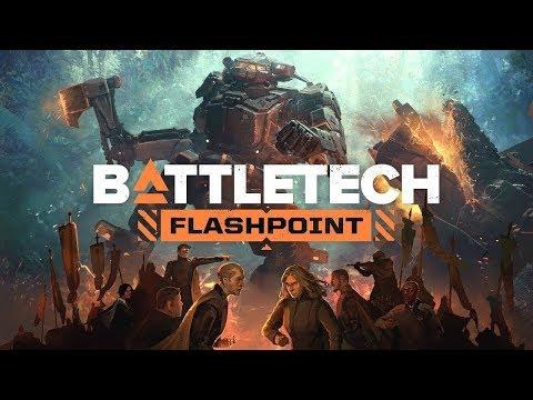 BATTLETECH - Flashpoint Gameplay - New BATTLETECH DLC - PC |