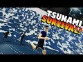 HUGE TSUNAMI SURVIVAL Stormworks Build And Rescue Gameplay Roleplay New Tsunami Update mp3