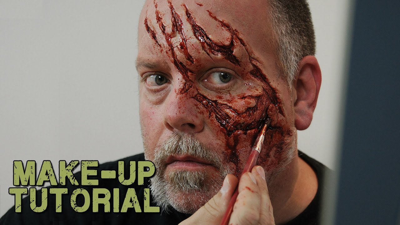 How to apply a prosthetic to yourself zombie style youtube solutioingenieria Images
